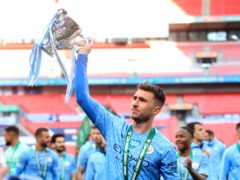 Aymeric Laporte set his sights on more trophies after winning the Carabao Cup (Adam Davy/PA)