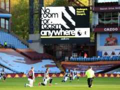 Football clubs, players and organisations have planned a social media blackout in response to recent online racist abuse. (Mike Egerton/PA)