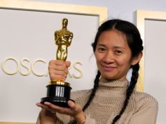 Oscar-winning filmmaker Chloe Zhao was originally considered to direct Black Widow before Marvel offered her Eternals, studio boss Kevin Feige said (AP Photo/Chris Pizzello, Pool)