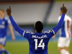 Leicester forward Kelechi Iheanacho has continued his impressive goalscoring form over the past 14 games (Andrew Boyers/PA)