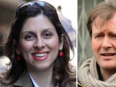 Richard Ratcliffe, husband of Nazanin, was critical of the UK Government's handling of his wife's situation in Iran (Family handout)