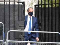 Foreign Secretary Dominic Raab has been accused by MPs of attempting to sneak out the extent of cuts to the aid budget (Stefan Rousseau/PA)