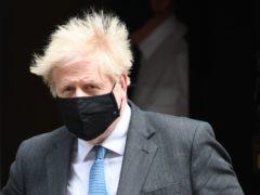 Prime Minister Boris Johnson leaves 10 Downing Street (Stefan Rousseau/PA)