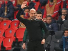 Pep Guardiola has warned Manchester City still have work to do against PSG (Julien Poupert/PA Wire)