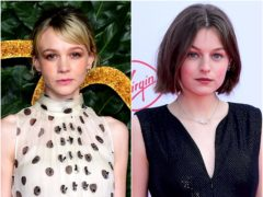 Carey Mulligan and Emma Corrin are among the British hopefuls at the Screen Actors Guild Awards, which have been stripped back due to the pandemic (PA)
