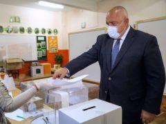 Bulgarian Prime Minister Boyko Borissov (GERB Party via AP)