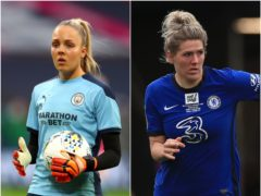 Title rivals Ellie Roebuck and Millie Bright are England team-mates for the next week (PA)