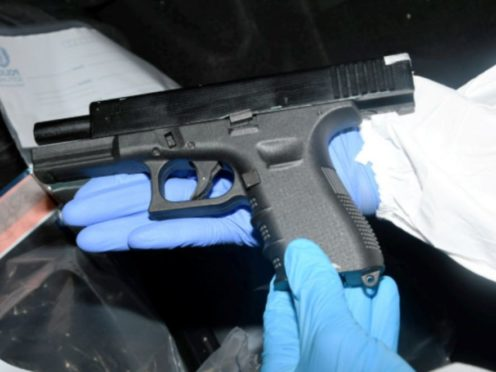 Police found guns when they searched Ku Wing Kwok's vehicle (Crown Office/PA)