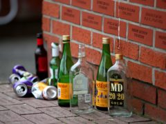 A report found more than 900 million empty drinks cans and bottles were 'wasted' in Scotland in 2019 (PA)