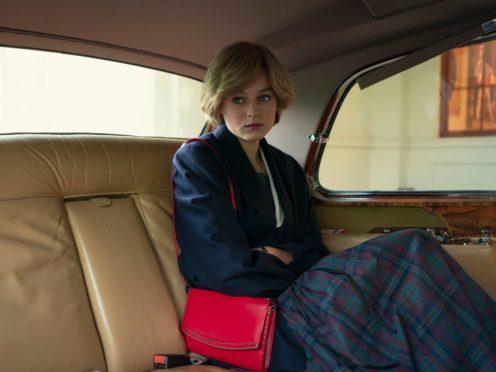 Emma Corrin as Princess Diana in The Crown (Netflix/PA)