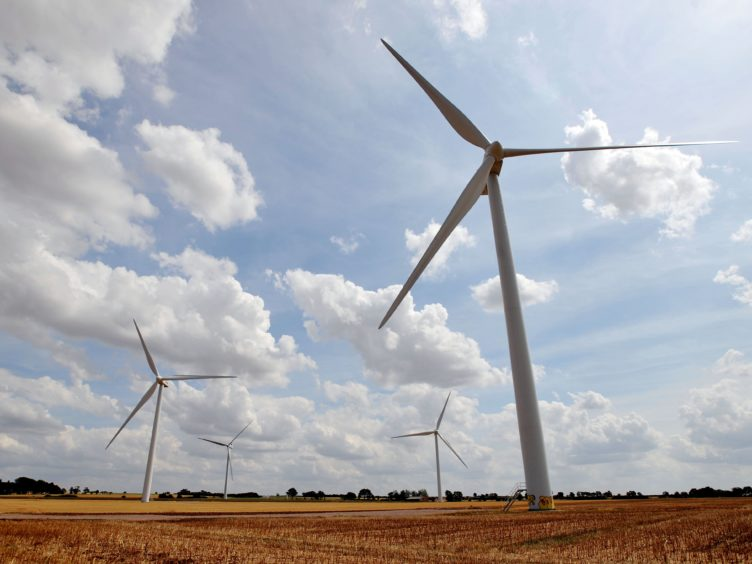 The Greens and the Liberal Democrats have set out plans to boost Scotland's renewable energy sector (Nick Ansell/PA)