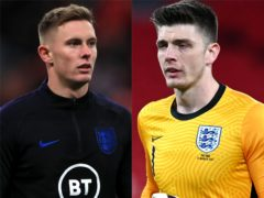 Dean Henderson and Nick Pope (Mike Egerton/PA)
