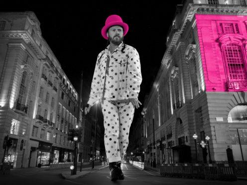 Keith Lemon is back hosting Celebrity Juice (Thames TV/PA)