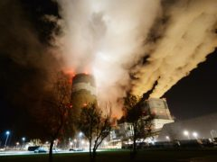 Clouds of smoke over Europe's largest lignite power plant in Betchatow, central Poland (AP/Czarek Sokolowski, File)