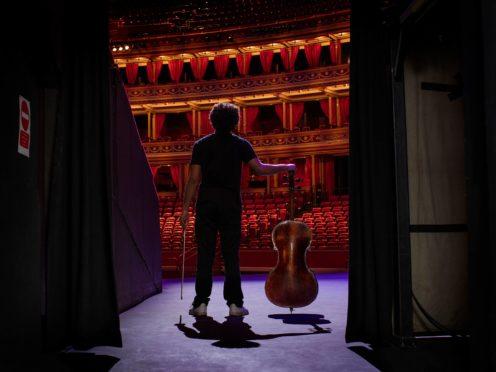 Sheku Kanneh-Mason at the Royal Albert Hall (BBC/PA)