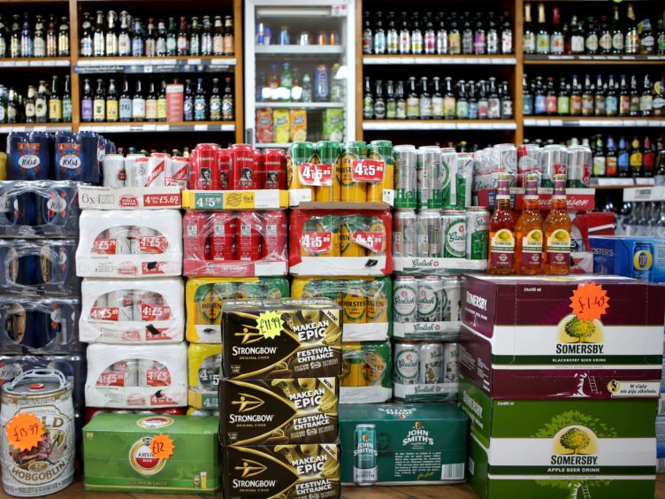 A new study provides 'powerful, real-world evidence of the success of minimum unit pricing' (Jane Barlow/PA)