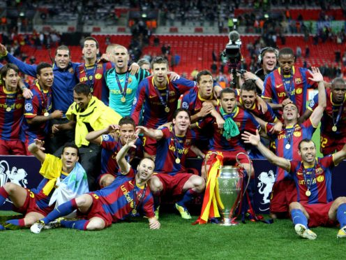 Barcelona won their third Champions League title in six years with a 3-1 victory over Manchester United at Wembley (Nick Potts/PA)