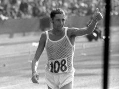 Ron Hill won 1970 Commonwealth Games marathon gold (PA)