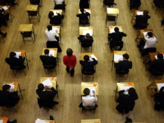 Typical exams have been cancelled this year and replaced with assessments (David Jones/PA)
