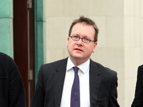 John Larkin is counsel for unionists who are challenging the legality of the Northern Ireland Protocol (Paul Faith PA)