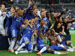 Chelsea were crowned European champions in 2012 (Owen Humphreys/PA)