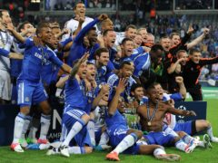 Chelsea became the first London club to be crowned European champions in 2012 (Owen Humphreys/PA)