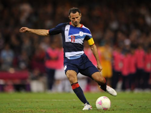 Ryan Giggs featured for the Great Britain men's football team in 2012 (Andrew Matthews/PA)