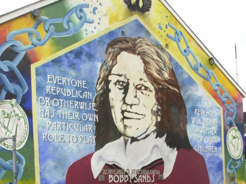 Mural of Bobby Sands (Haydn West/PA)