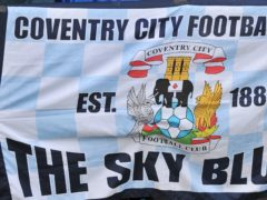 Coventry's transfer embargo has been removed by the English Football League (Tim Parker/PA)