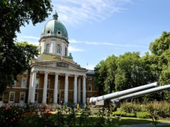 The main entrance of the Imperial War Museum in London (John Stillwell/PA)