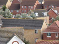 Demand for detached and semi-detached houses has grown, according to the NHBC (Yui Mok/PA)