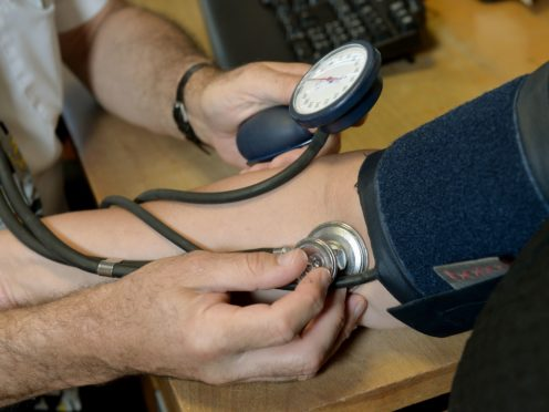 High blood pressure is one of the most common diseases and remains the key risk factor for strokes and heart attacks (Anthony Devlin/PA)