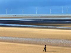 Formby Beach in Merseyside (Peter Byrne/PA)