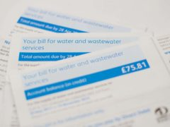 The Consumer Council for Water watchdog has proposed a single social tariff for those living in water poverty (Dominic Lipinski/PA)