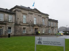 The teenager appeared at Dumbarton Sheriff Court (John Linton/PA)