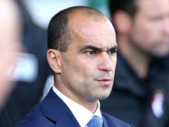 Roberto Martinez spent three years as Everton manager (Martin Rickett/PA)