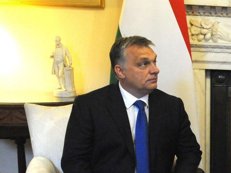 Hungarian PM Viktor Orban (Nick Ansell/PA)
