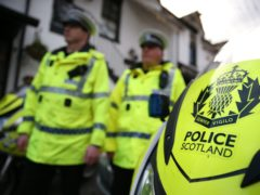The 22-year-old woman was pronounced dead at the scene (Andrew Milligan/PA)