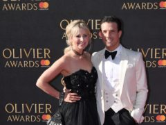 Carley Stenson and Danny Mac (Chris J Ratclife/PA)