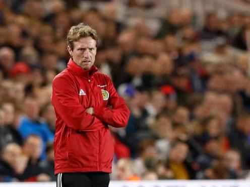 Scotland Under-21 boss Scot Gemmill has named a new-look squad (Martin Rickett/PA)