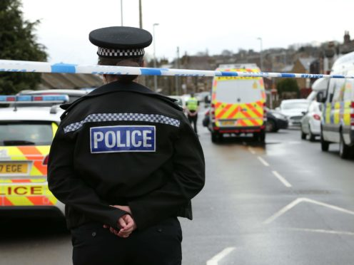 Three men, a woman and a teenage boy remain in custody after they were arrested on suspicion of terrorism offences (Aaron Chown/PA)