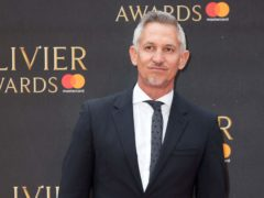 Gary Lineker is stepping down as BT Sport host (Isabel Infantes/PA)