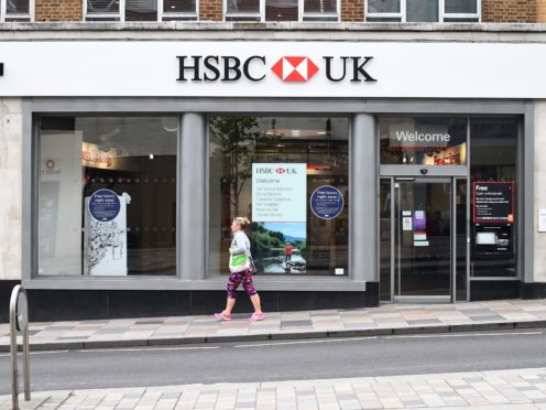 HSBC UK handed out more mortgages in March than in any other month of more than 40 years of offering home loans (KIrsty O'Connor/PA)