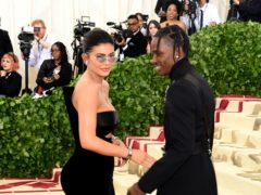 Kylie Jenner and Travis Scott (Ian West/PA)