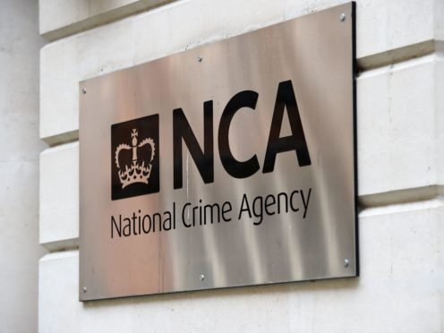 The seizure came as part of a National Crime Agency investigation into organised crime (Kirsty O'Connor/PA)