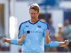 Steven Patterson took the final wicket in Yorkshire's remarkable one-run victory at Headingley (John Walton/PA)