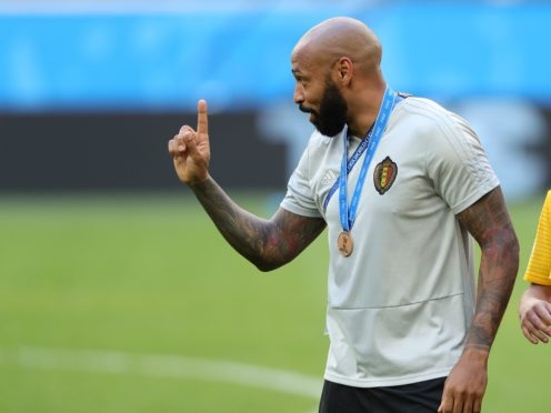 Thierry Henry will re-join the Belgium setup for this summer's tournament (Aaron Chown/PA)