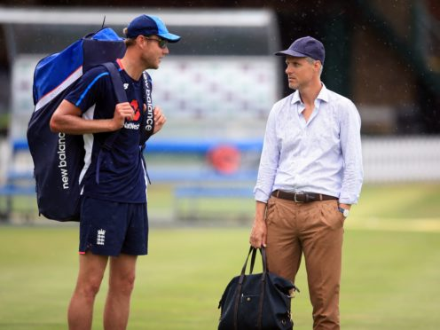 Stuart Broad, left, has opened up about his relationship with former national selector Ed Smith (Adam Davy/PA)