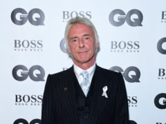Paul Weller is chasing his sixth UK number one album with Fat Pop (Ian West/PA)