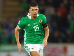 Jordan Jones scored his first Northern Ireland goal on Sunday (Niall Carson/PA)